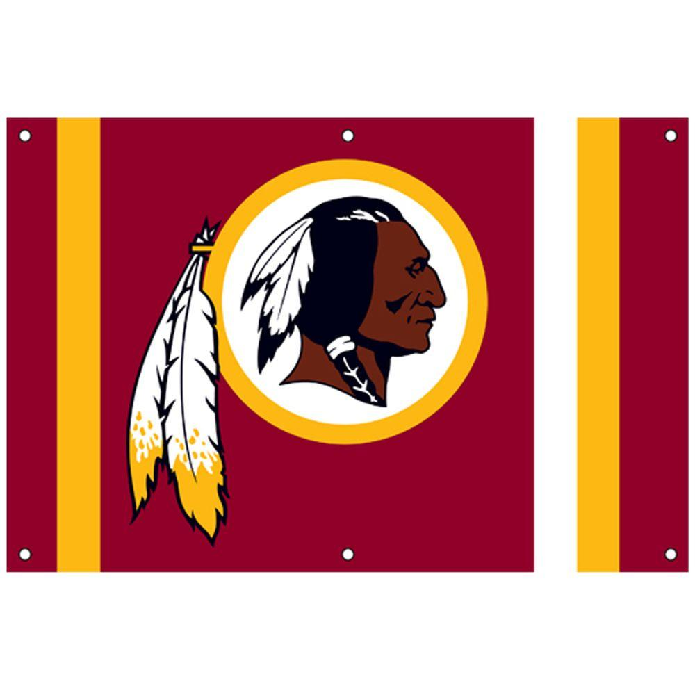 Party Animal 24 in. x 36 in. NFL License Washington Redskins Fan Banner-DISCONTINUED