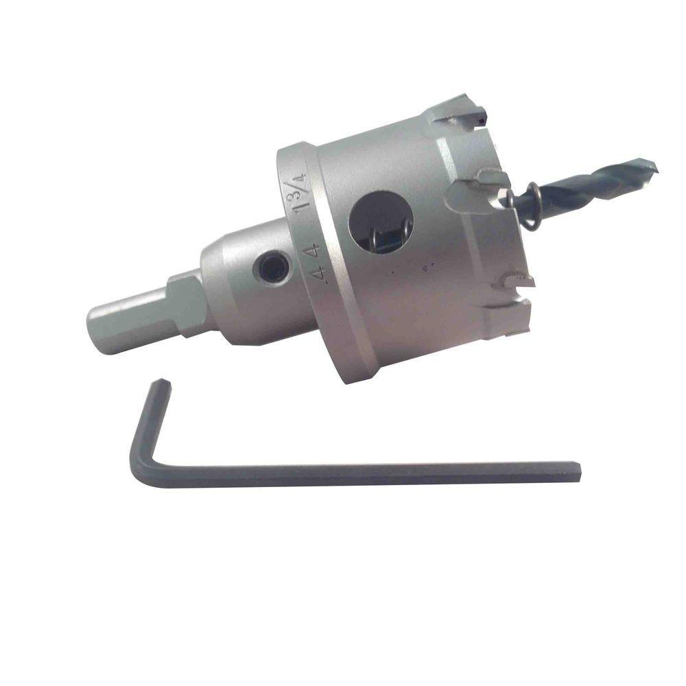BLU-MOL 1-3/4 inch Xtreme Tri-Cut Tungsten Carbide Hole Cutter by BLU-MOL