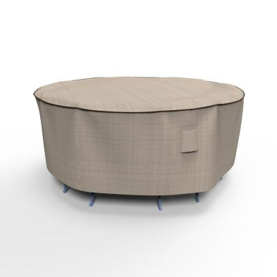 English Garden Small Round Patio Table and Chairs Combo Covers