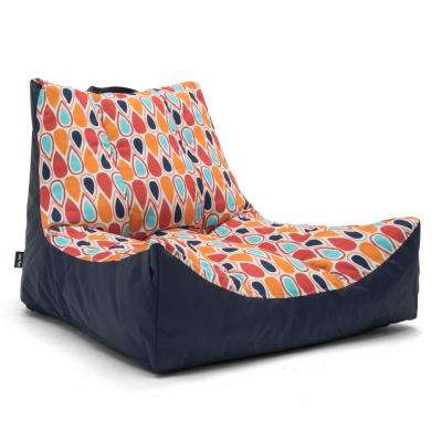 Captain's Float Fiesta Geo Drop Sunmax Pool Chair