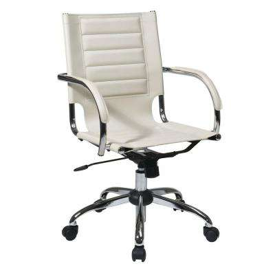 Beige OfficeDesk Chair Office Chairs Home Office Furniture - Cream desk chair