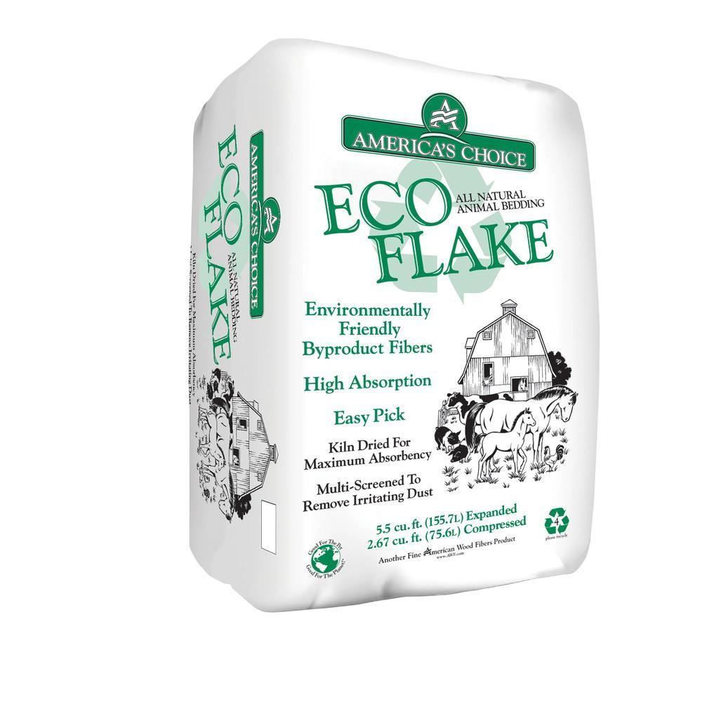 America S Choice 2 67 Cu Ft Eco Flake Shavings 532 67p2ecoac The Home Depot