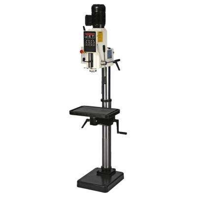 J-A2608-1, 20 in. Gear Head Drill Press 120-Volt, 1 pH