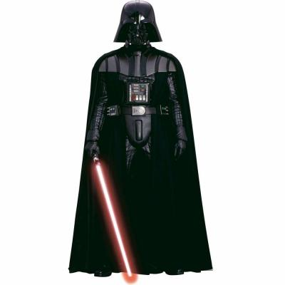 3.5 in. x 27 in. Star Wars Classic Vader 11-Piece Peel and Stick Giant Wall Decal