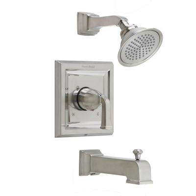 Town Square 1-Handle Tub and Shower Trim Kit with Volume Control in Brushed Nickel (Valve Sold Separately)