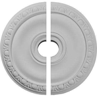 20 in. O.D. x 3-5/8 in. I.D. x 1 in. P Jackson Ceiling Medallion (2-Piece)