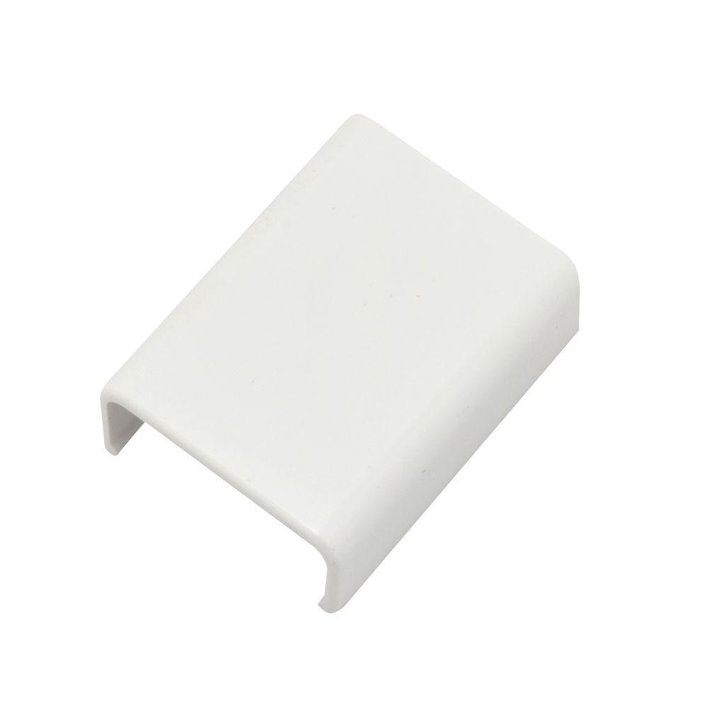 Legrand Wiremold CordMate II Cord Cover Coupling, White