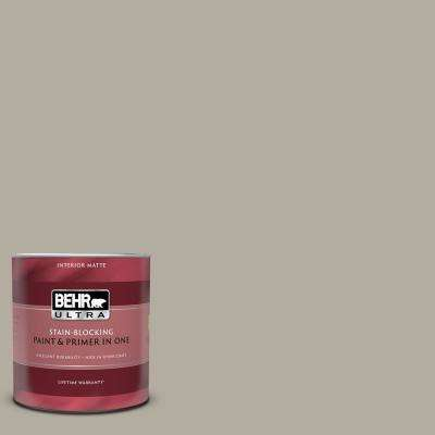 1 qt. #PPU18-13 Perfect Taupe Matte Interior Paint and Primer in One