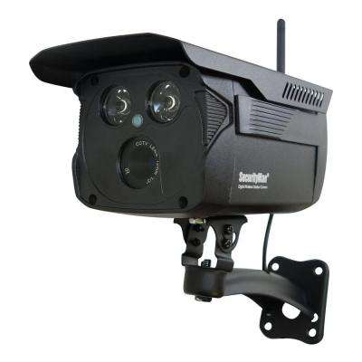 Wireless Add-On Enhanced Weatherproof Digital Standard Surveillance Camera with 120 ft. Night Vision