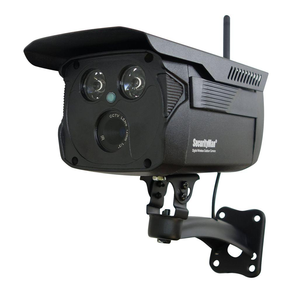 Wireless Add On Enhanced Weatherproof Indoor/outdoor Digital Camera With 120 Ft. Night Vision
