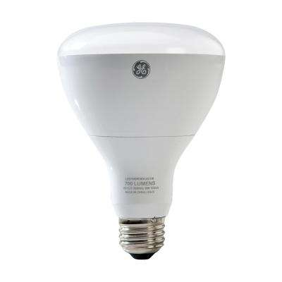 65W Equivalent Soft White (2700K) High Definition BR30 Dimmable LED Light Bulb (2-Pack)