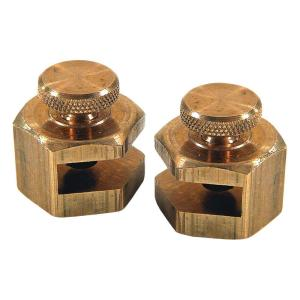Empire 3/4 inch Brass Stair Gauges (2-Pack) by Empire