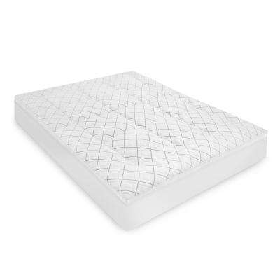 Premier Knit Luxury 1.5 in. California King Fiber Mattress Topper