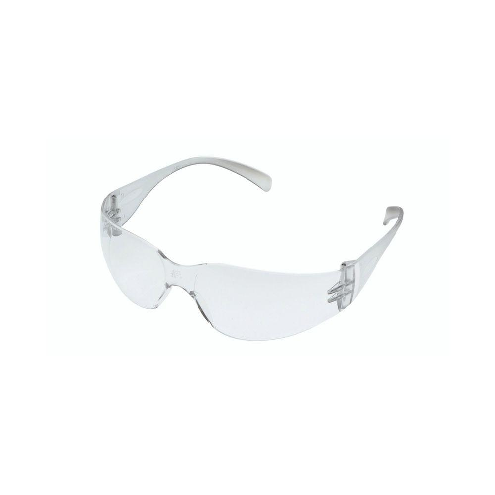 Clear Frame with Clear Scratch Resistant Lenses Indoor Safety Glasses