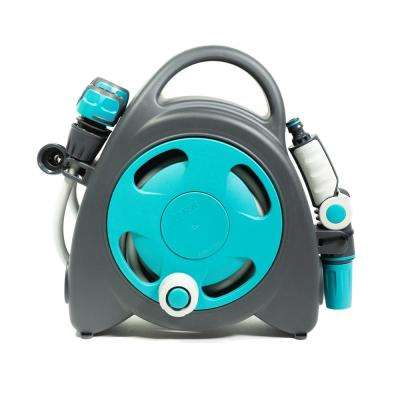Aquabag 1 in. x 38 ft. Blue Mini Portable Hose and Reel
