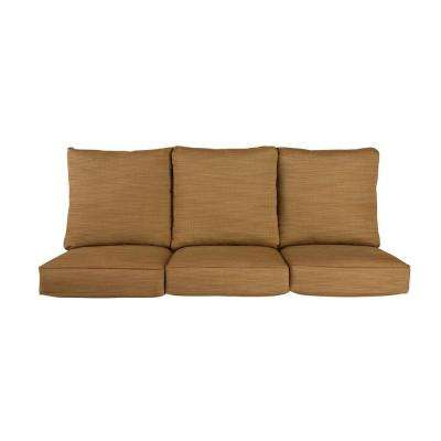 Vineyard Replacement Outdoor Sofa Cushion in Toffee