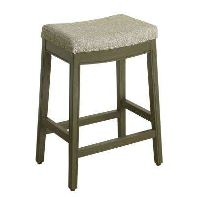 Parsons 24 in. Stone Bar Stool
