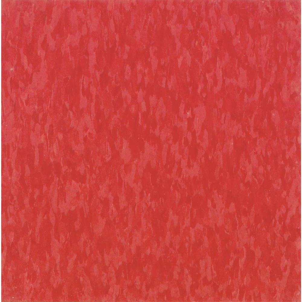 Imperial Texture VCT 12 in. x 12 in. Hot Lips Commercial