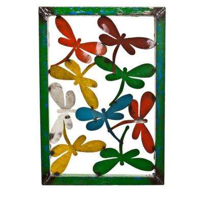 Large Dragonfly Wall Decor