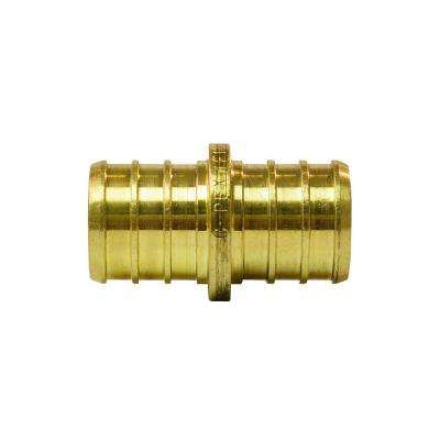 3/4 in. Brass PEX Barb Coupling (50-Pack)