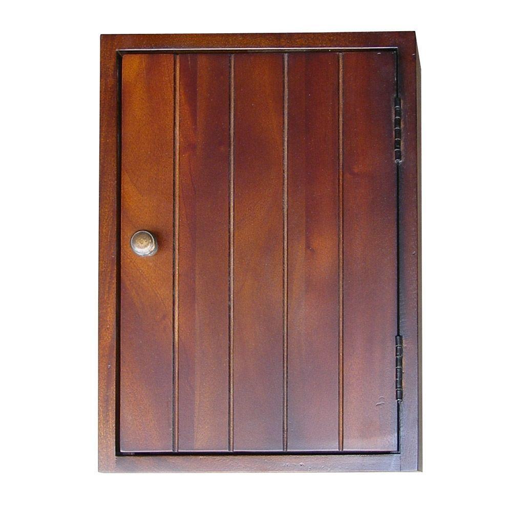 Mahogany Storage Cabinet