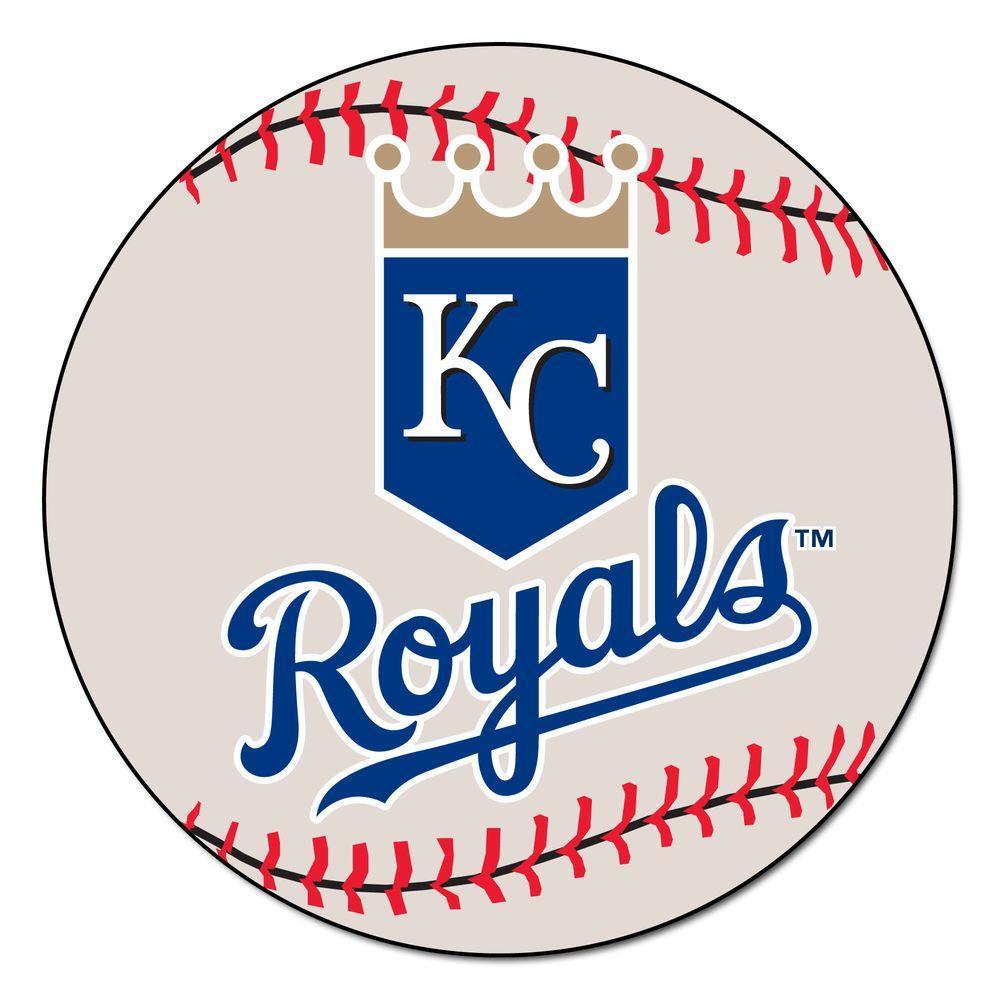 MLB Kansas City Royals White 2 Ft 3 In X