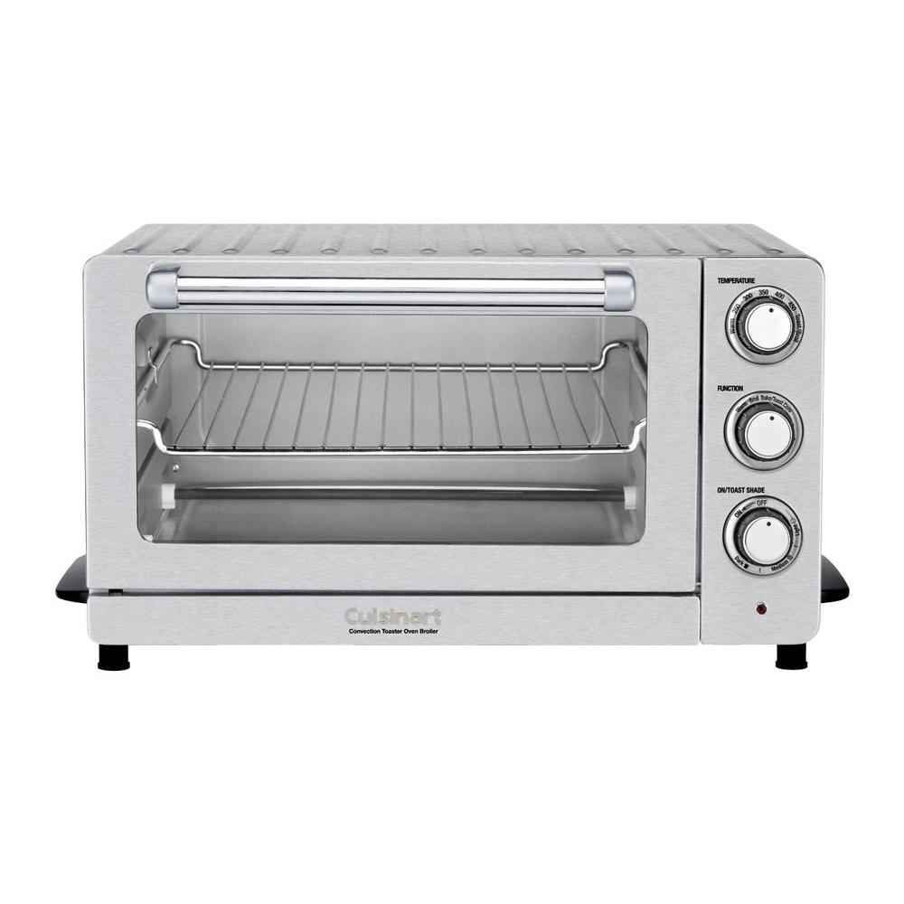 Cuisinart Convection Countertop Toaster Oven with Broiler in Silver