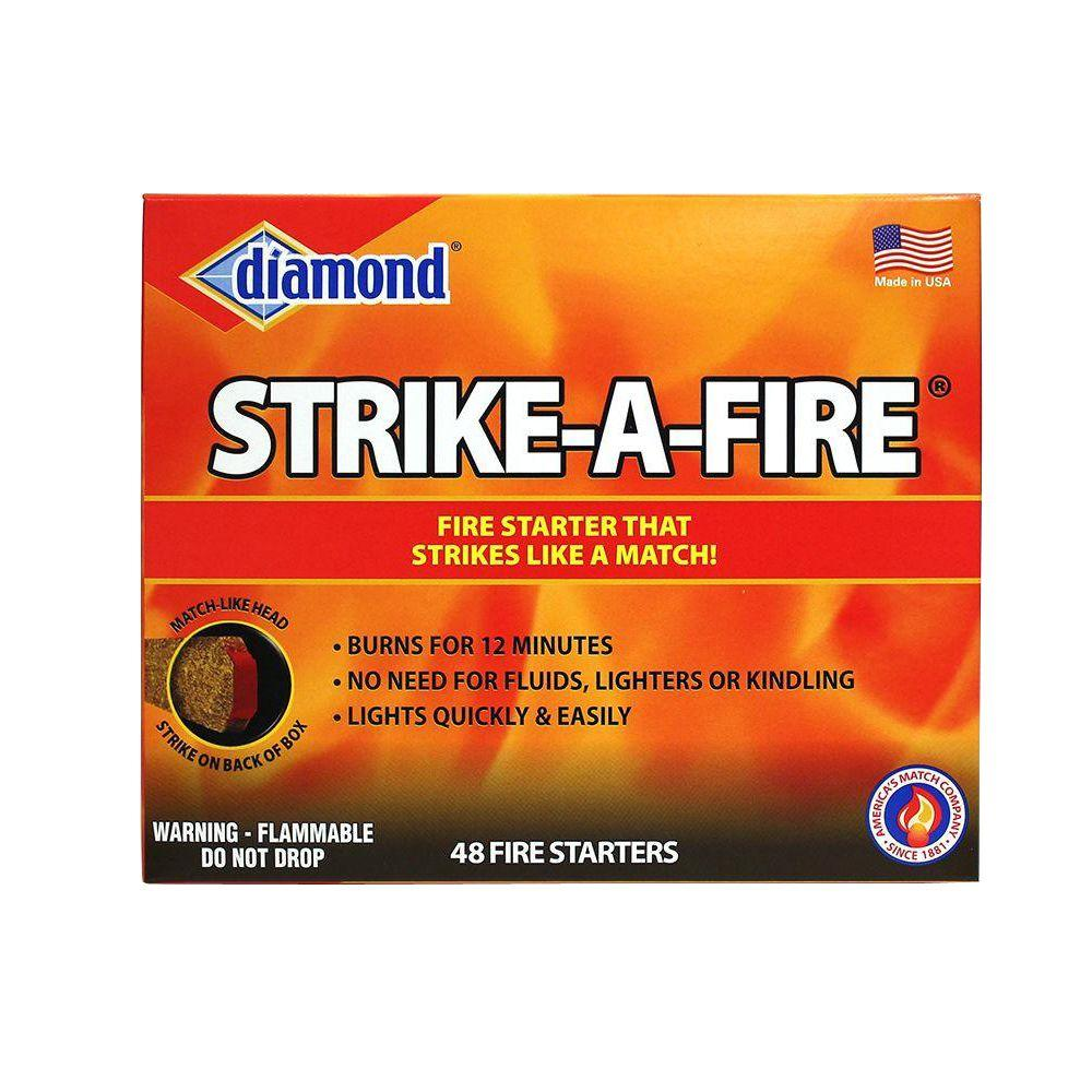 diamond strike a fire 48 count 4878911025 the home depot