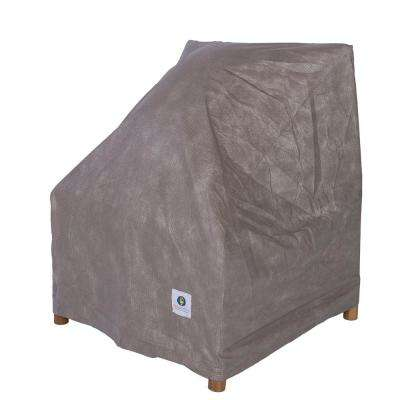 Elite 36 in. W Patio Chair Cover with Inflatable Airbag to Prevent Pooling