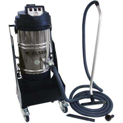 Vega 2-Motor High Performance Cyclonic Dry Commercial Canister Vacuum Cleaner with Filter Shaker