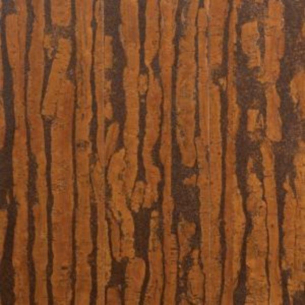 Solid cork board cork flooring wood flooring the home depot take home sample dark exotic plank click cork flooring dailygadgetfo Images