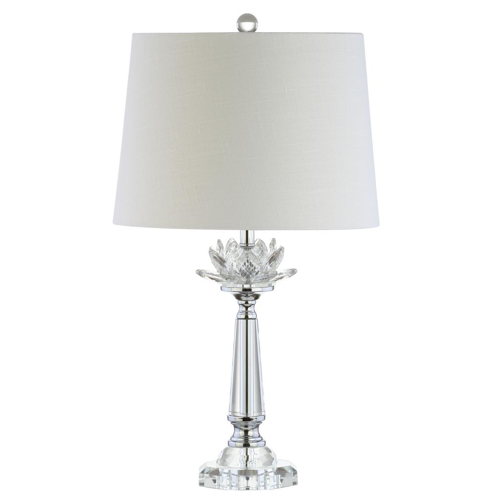 Jonathan Y Day 24 5 In Clear Crystal Table Lamp Jyl2016a The Home
