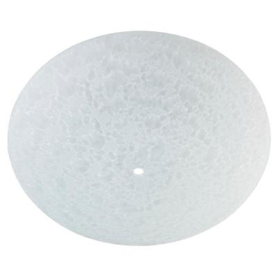 2-1/4 in. Round Frosted Diffuser with 12-3/4 in. Width