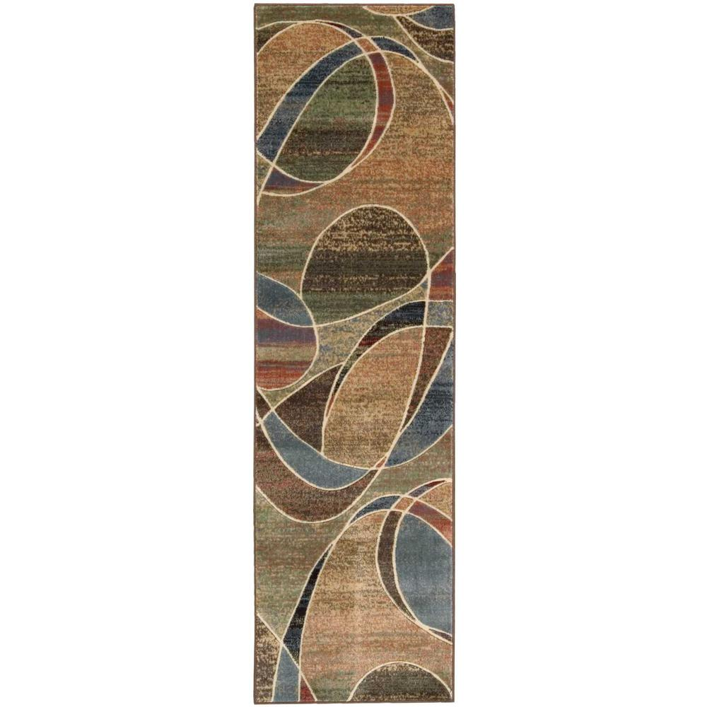 Nourison Expressions Multi 2 ft. x 8 ft. Runner Rug
