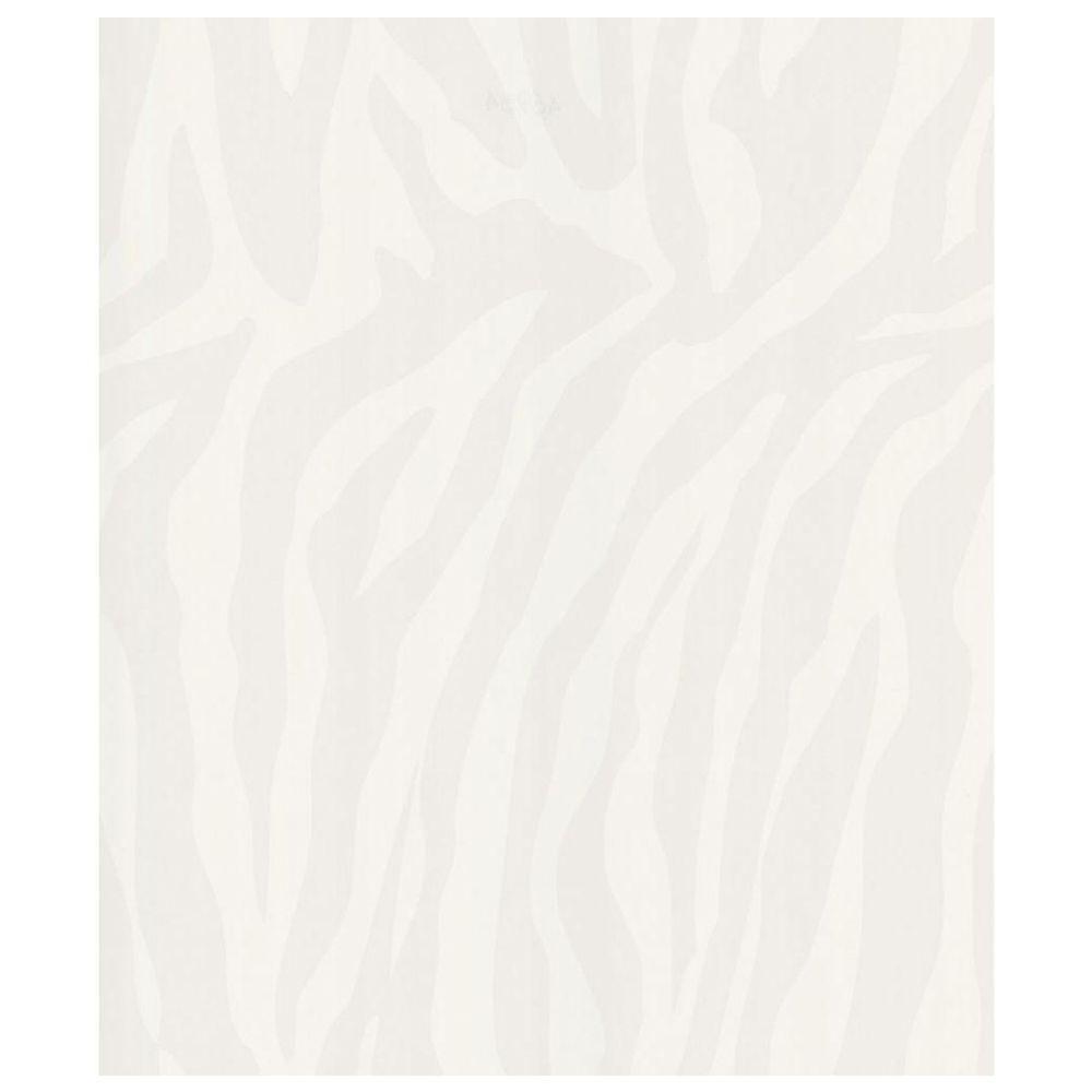 White Zebra Skin Wallpaper Sample