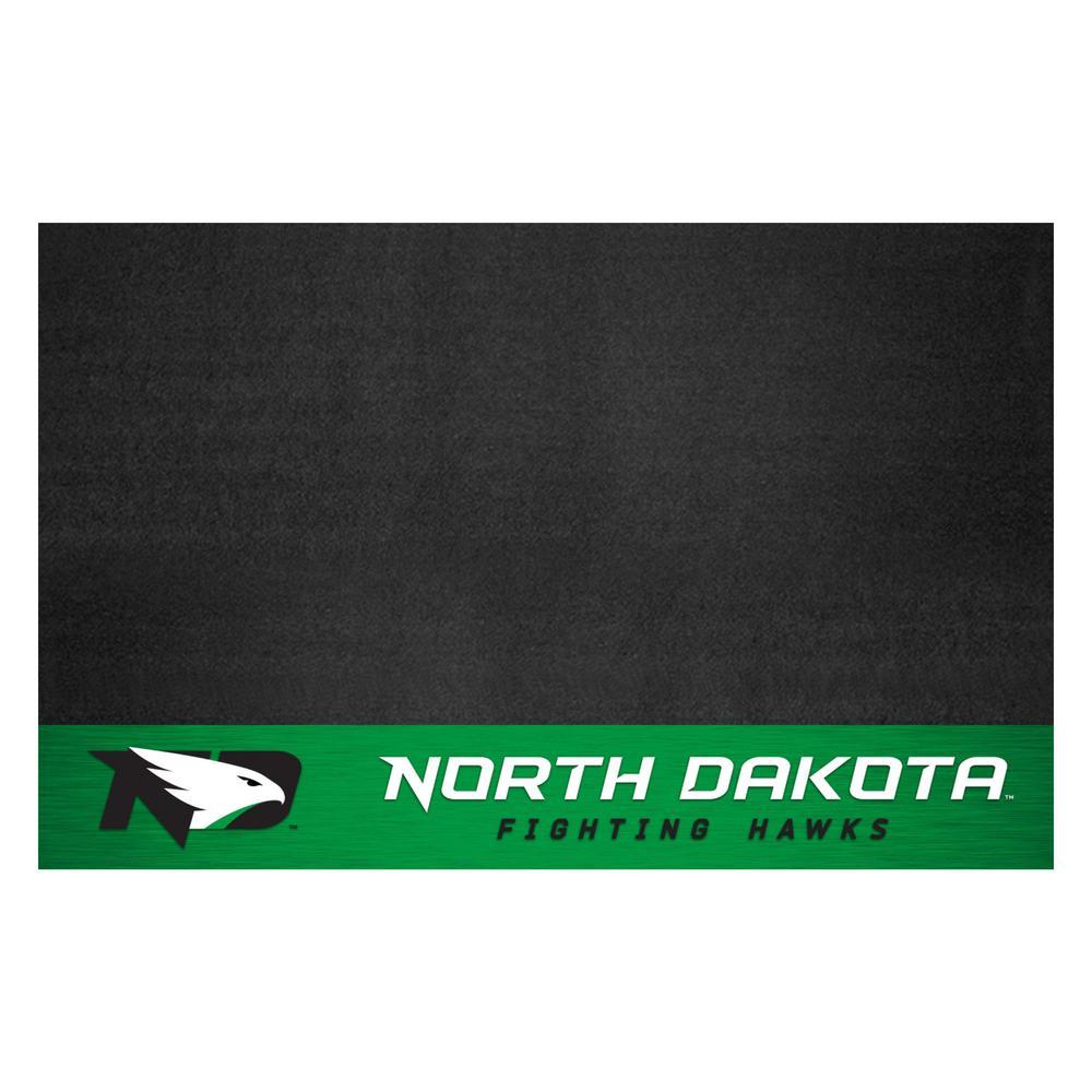 NCAA 26 in. x 42 in. University of North Dakota Grill Mat