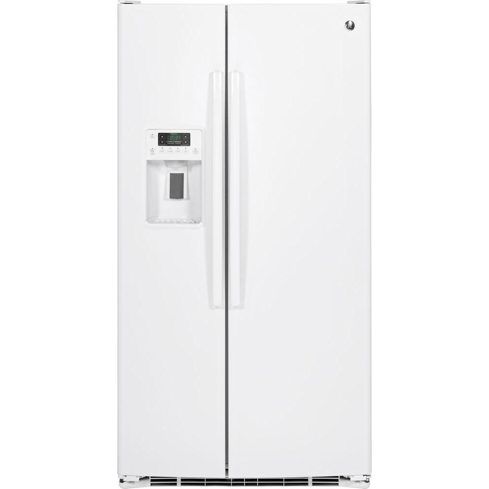 25 3 Cu Ft Side By Refrigerator