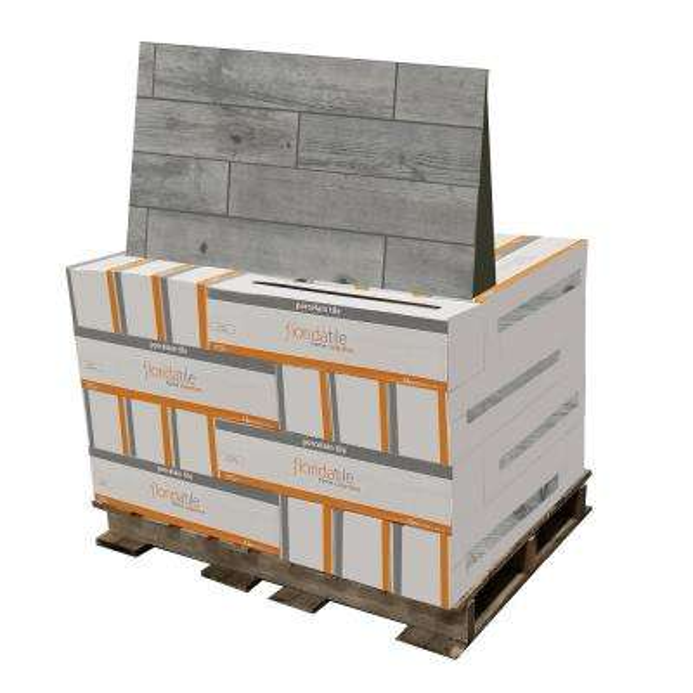 Timber Grey 6 in. x 24 in. Porcelain Floor (448 sq. ft. / pallet)