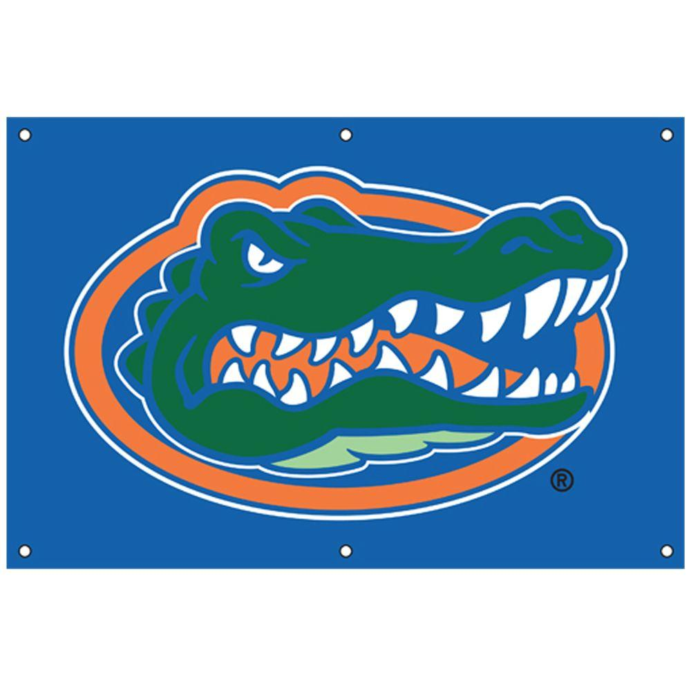 Party Animal 24 in. x 36 in. NCAA License Florida Fan Banner-DISCONTINUED
