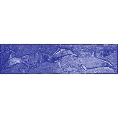 12 in. x 48 in. Whale Border Stamp