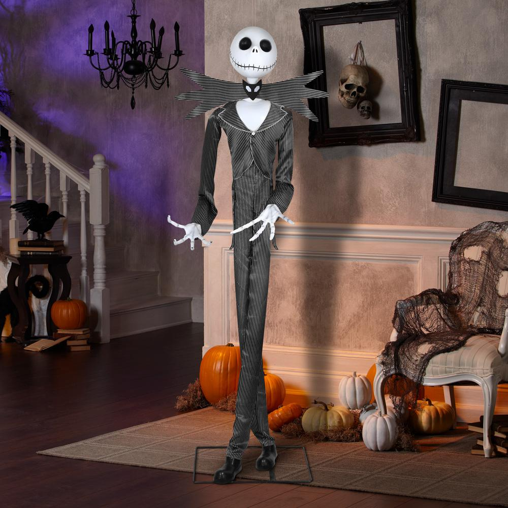 You can get a Life-Size Animatronic Jack Skellington that talks and moves!