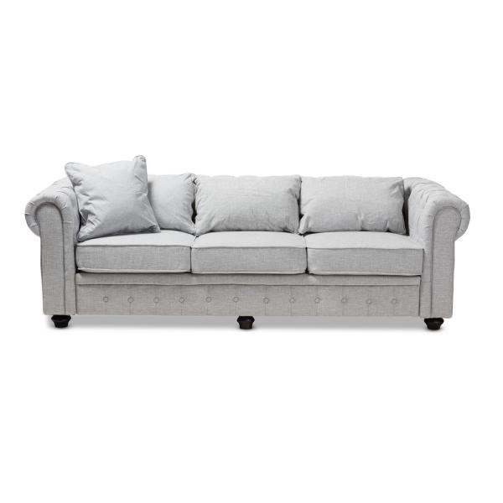 Alaise Grey Fabric Sofa