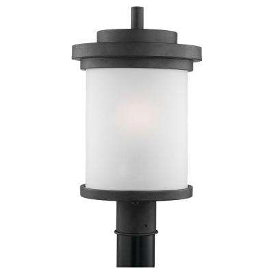 Winnetka 1-Light Forged Iron Outdoor Post Top