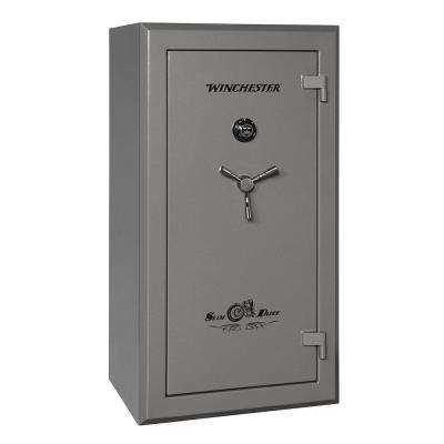 Slim Daddy 27 cu. ft. 30-Gun 75 Minute Fire Resistant U.L. Mechanical Lock Gun Safe Gunmetal