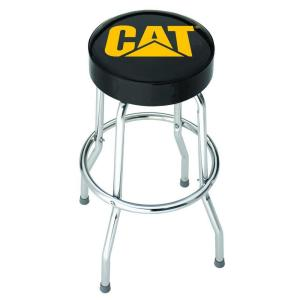 20.5 inch Chrome Cushioned Bar Stool by