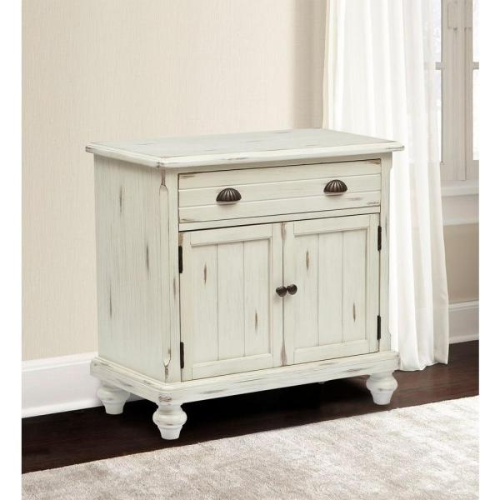 Pulaski Furniture Country White Storage Cabinet