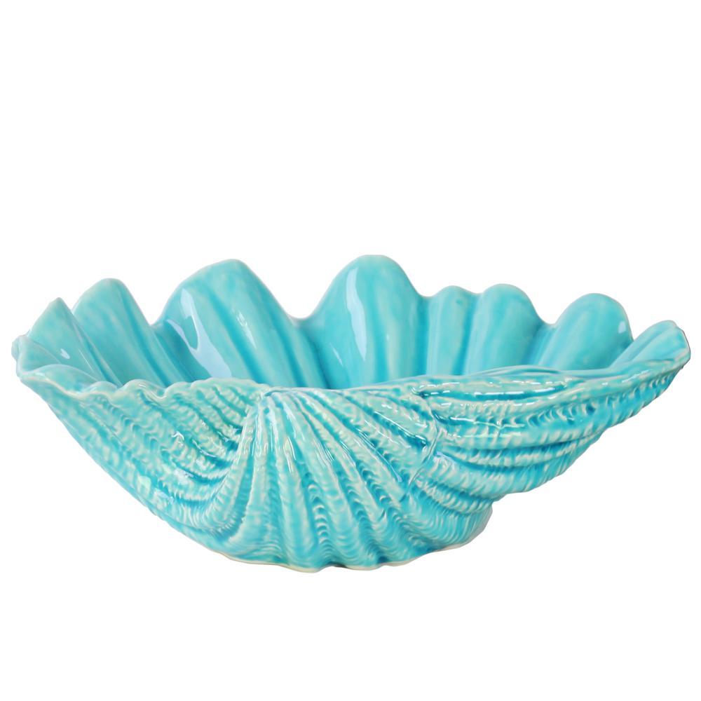 4.00 in. H Sculpture Decorative Sculpture in Blue Gloss