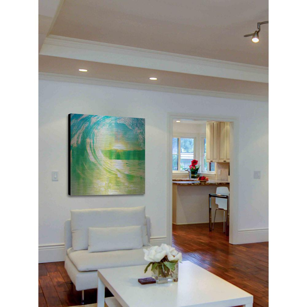 32 in. H x 32 in. W  Perfect Waves  by Parvez Taj  sc 1 st  The Home Depot & 32 in. H x 32 in. W