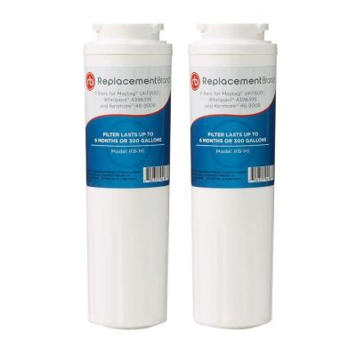 ReplacementBrand Refrigerator Water Filter Comparable to Maytag UKF8001 (2-Pack)