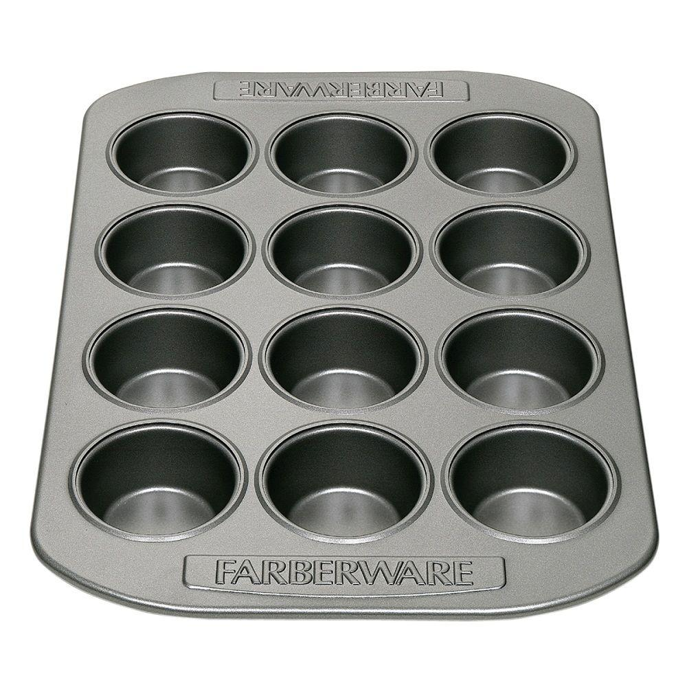 Farberware 12-Cup Steel Muffin Pan